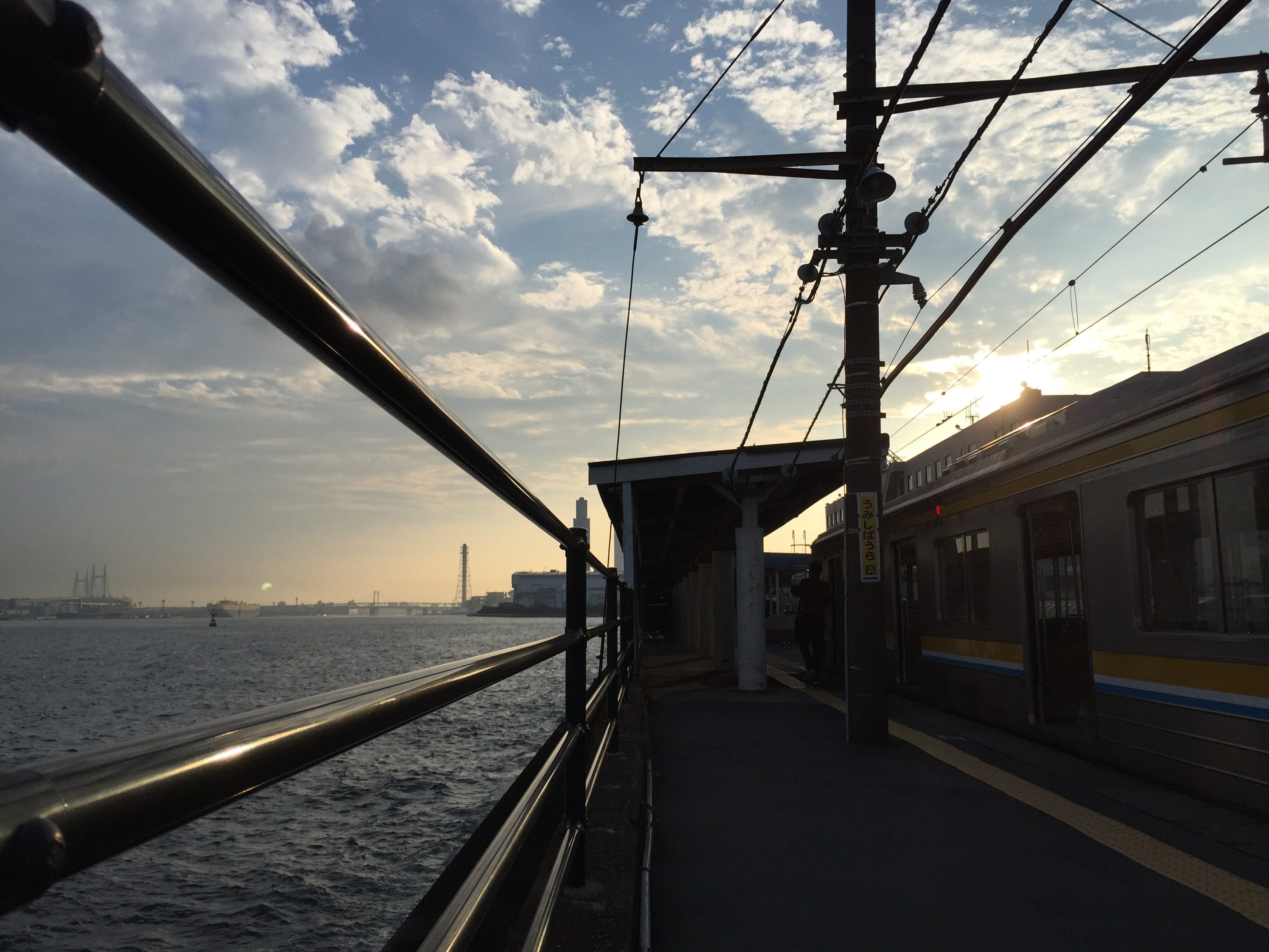 「海芝浦」から見える景色は、疲れた心を癒してくれる最高の穴場スポット